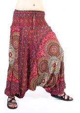 Kalhoty turecké harémové ORIGIN viskóza Thajsko TT0043-29