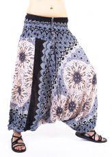 Kalhoty turecké harémové ORIGIN viskóza Thajsko TT0043-232