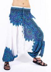 Kalhoty turecké harémové ORIGIN viskóza Thajsko TT0043-233