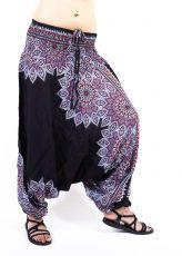 Kalhoty turecké harémové ORIGIN viskóza Thajsko TT0043-217