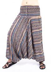 Kalhoty turecké harémové ORIGIN viskóza Thajsko TT0043-219