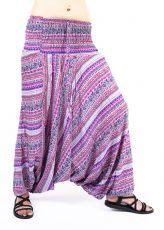 Kalhoty turecké harémové ORIGIN viskóza Thajsko TT0043-221