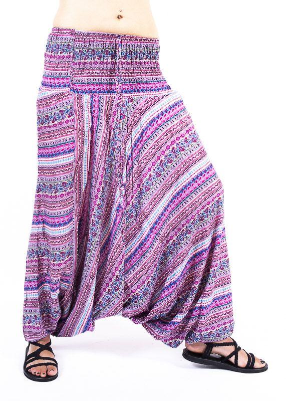 Kalhoty turecké harémky ORIGIN viskóza Thajsko TT0043 221