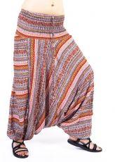 Kalhoty turecké harémové ORIGIN viskóza Thajsko TT0043-222
