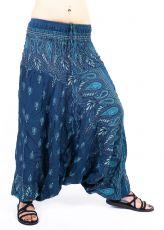 Kalhoty turecké harémové ORIGIN viskóza Thajsko TT0043-223