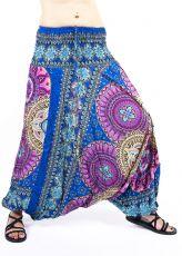 Kalhoty turecké harémové ORIGIN viskóza Thajsko TT0043-224