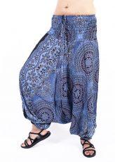 Kalhoty turecké harémové ORIGIN viskóza Thajsko TT0043-215