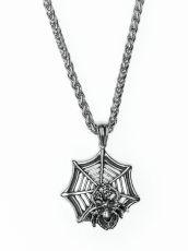 Řetěz na krk s přívěskem z chirurgické oceli  H3S0068-A