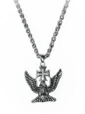 Řetěz na krk s přívěskem z chirurgické oceli  H3S0020-A