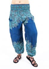 Turecké kalhoty sultánky FLOW viskóza TT0043-01-050