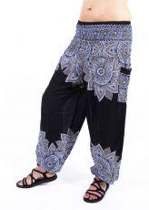 Turecké kalhoty sultánky FLOW viskóza TT0043-01-051