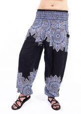 Turecké kalhoty sultánky FLOW viskóza Thajsko TT0043-01-051