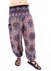 Turecké kalhoty sultánky FLOW viskóza TT0043-01-052