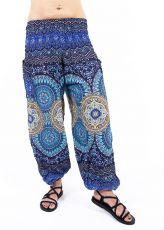 Turecké kalhoty sultánky FLOW viskóza TT0043-01-054