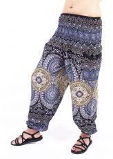 Turecké kalhoty sultánky FLOW viskóza TT0043-01-044