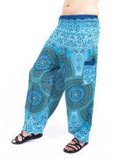 Turecké kalhoty sultánky FLOW viskóza TT0043-01-045