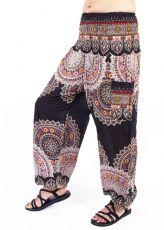 Turecké kalhoty sultánky FLOW viskóza TT0043-01-047