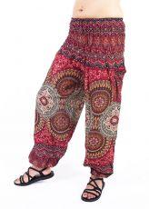 Turecké kalhoty sultánky FLOW viskóza TT0043-01-048