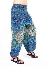 Turecké kalhoty sultánky FLOW viskóza TT0043-01-042