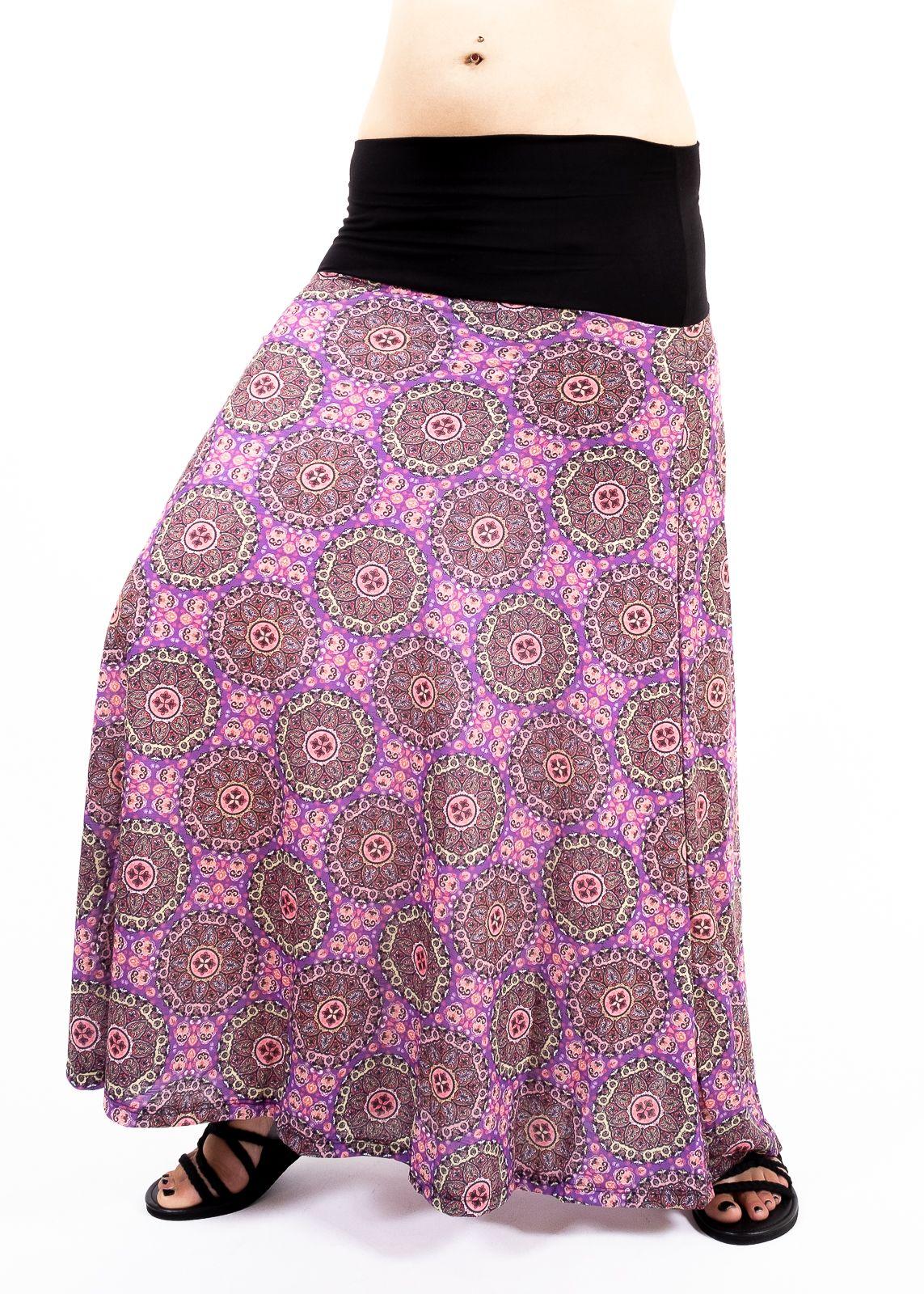 Dámská dlouhá sukně LILY LONG letní - TT0100-01C-015