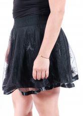 Dámská sukně rock, metal, gothic - H2T000301 HELLROCK WEAR