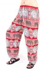 Dámské letní kalhoty PALM viskóza Thajsko TT0043-0235