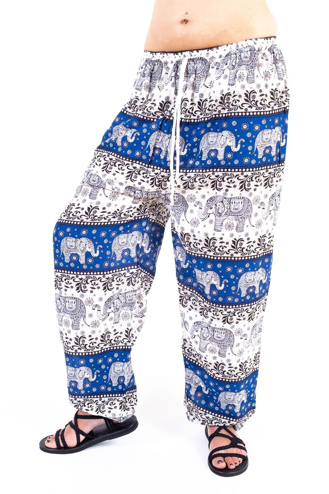 Dámské letní kalhoty PALM viskóza Thajsko - TT0043-0236