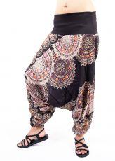 Kalhoty turecké DAPHNE HAREM viskóza Thajsko TT0043-07-003