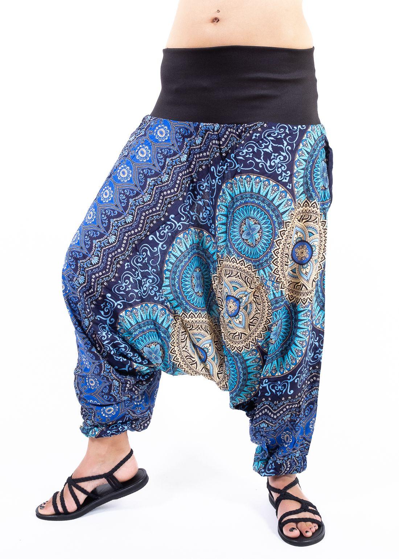Kalhoty turecké DAPHNE HAREM viskóza Thajsko - TT0043-07-004