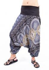 Kalhoty turecké DAPHNE HAREM viskóza Thajsko TT0043-07-005