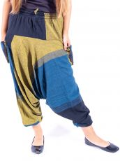 Kalhoty turecké TARA, bavlna Nepál  NT0096-05-002
