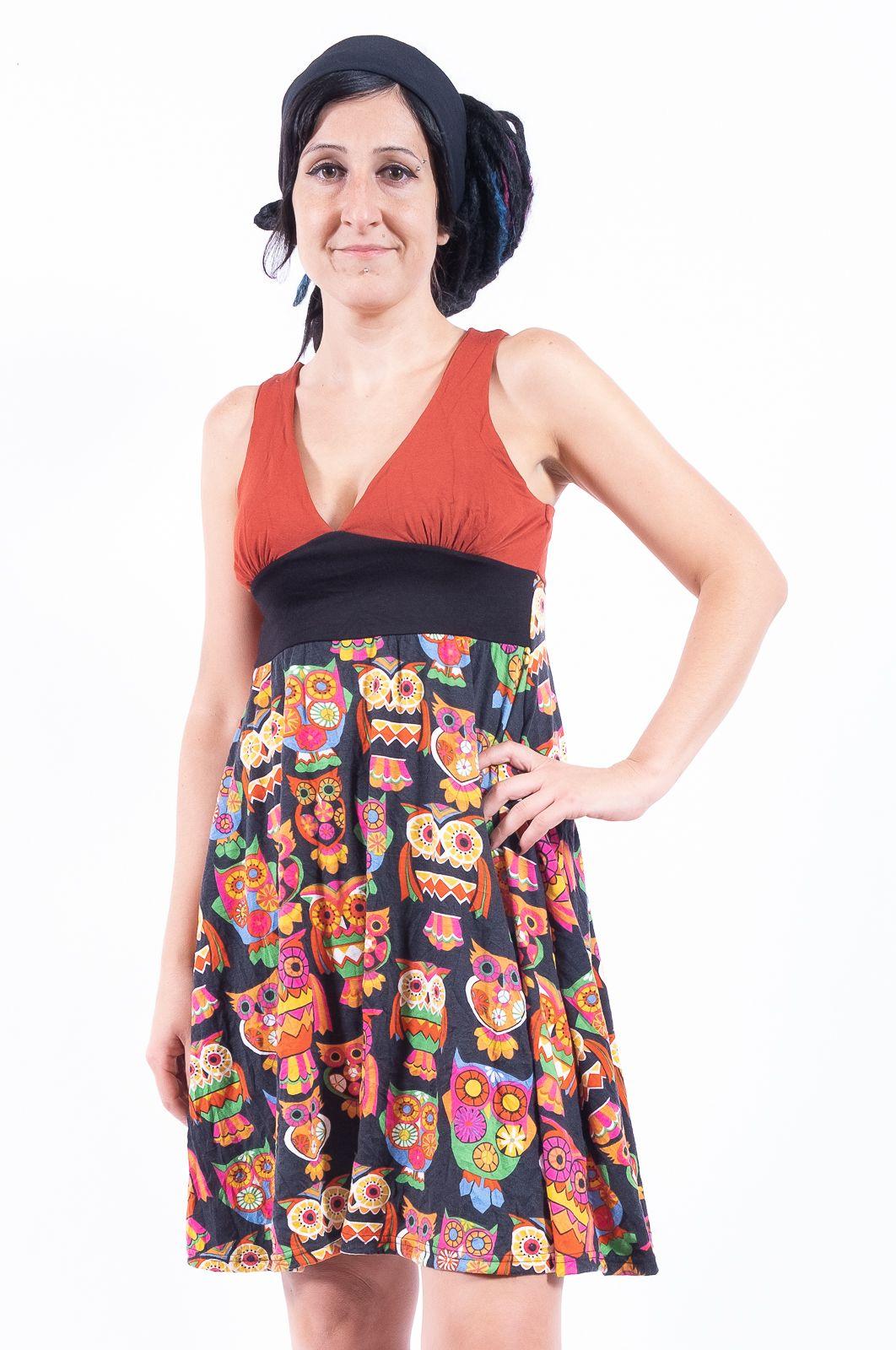 Letní šaty (šatová tunika) z pružného materiálu - TT0024-0-209