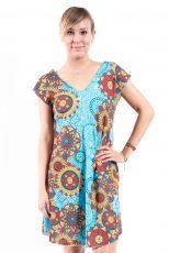 Letní šaty - tunika z pružného materiálu TT0024-05-018