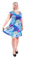 Letní šaty - tunika z pružného materiálu TT0024-05-019