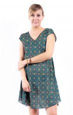 Letní šaty - tunika z pružného materiálu TT0024-05-020
