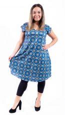 Letní šaty - tunika z pružného materiálu TT0024-05-017