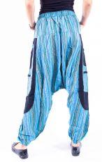UNISEX turecké kalhoty RAMA z Nepálu z lehčího materiálu - NT0053-28B-012 KENAVI