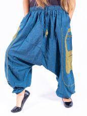 UNISEX turecké kalhoty RAMA z Nepálu  NT0053-28B-007