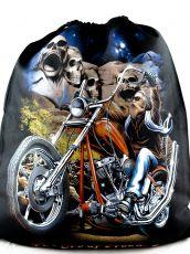Batoh - vak metal, rock větší oboustranný H2T0007