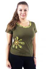 Dámské tričko BLOSSOM, Nepál  NT0100-31-002