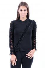 Dámské tričko s kapucí (mikina) HELLROCK H1T002301