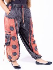 Kalhoty SLUNÉČKO z Nepálu  NT0053-40-001