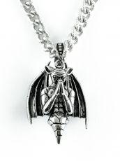 Řetěz na krk s přívěskem z chirurgické oceli  H3S0130