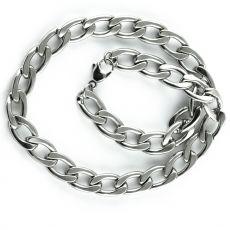 Masivní řetěz na krk z chirurgické oceli  H3S0147