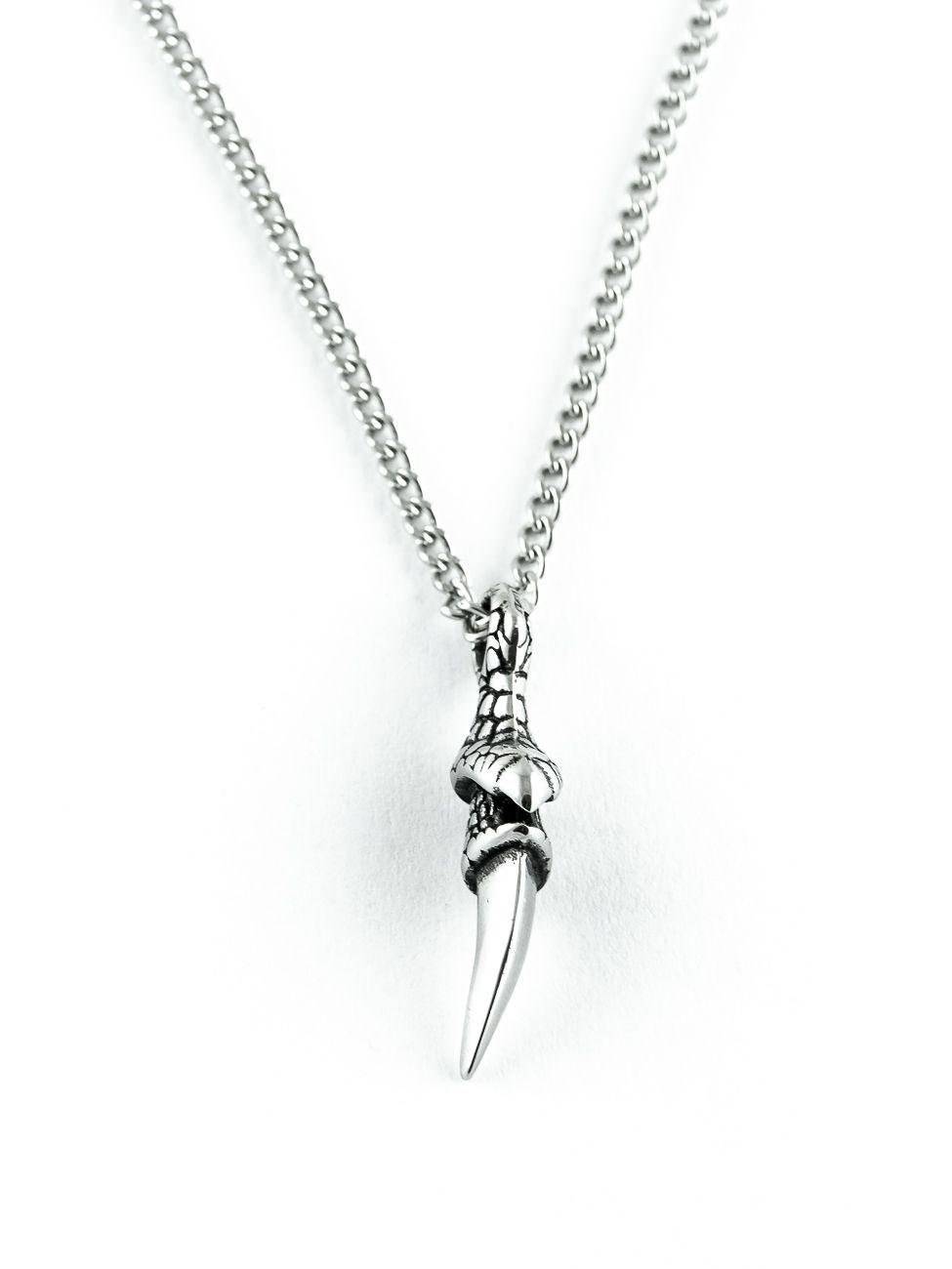 Řetěz na krk s přívěskem z chirurgické oceli - H3S0108