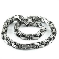 Masivní řetěz na krk z chirurgické oceli  H3S0152