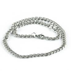 Masivní řetěz na krk z chirurgické oceli  H3S0155