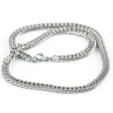 Masivní řetěz na krk z chirurgické oceli  H3S0157