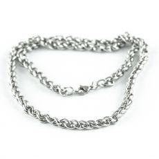 Masivní řetěz na krk z chirurgické oceli  H3S0158