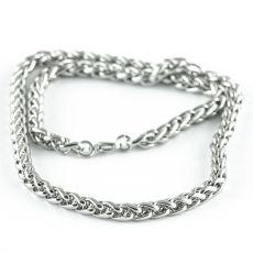 Masivní řetěz na krk z chirurgické oceli  H3S0160